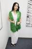 Picture of Long Silk Green Scarf Shawl