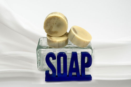 Picture of Shampoo Soap: Peppermint & Tea Tree